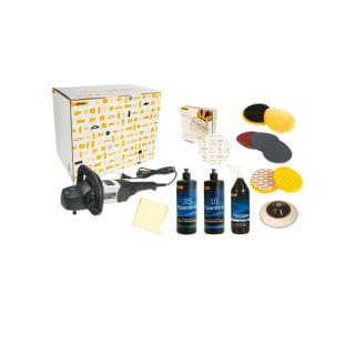 Mirka High Gloss Polishing Solution Kit Inc Polisher KIT1302