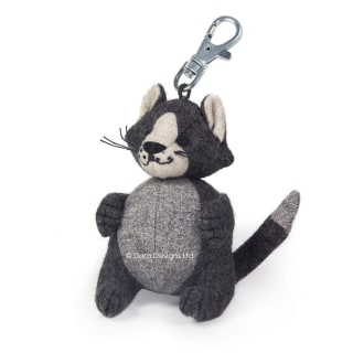 Fat Cat Key Ring by Dora Designs