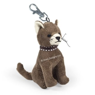 Ambrosia The Cat Key Ring by Dora Designs
