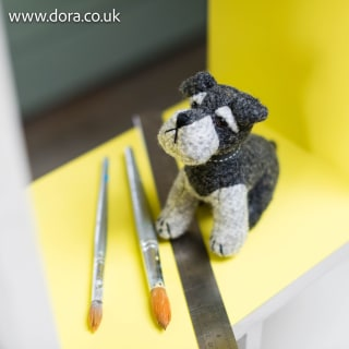 Suger Bear Junior Paperweight by Dora Designs
