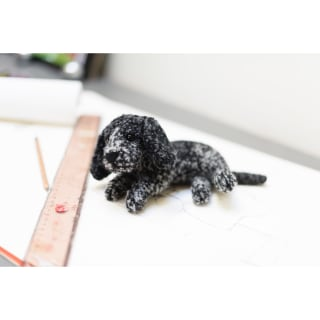 Cocker Spaniel paperweight by dora designs