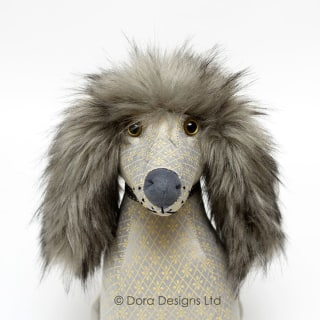 Posh Alfie Afghan Doorstop by Dora Designs