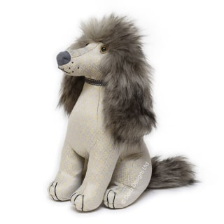 Posh Alfie Afghan Dog Door Stop by Dora Designs