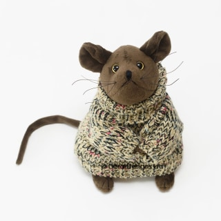Duncan Mouse Doorstop By Dora Designs