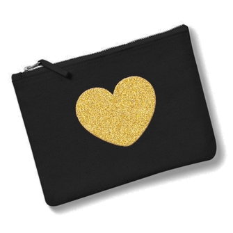 Heart - Black, Gold
