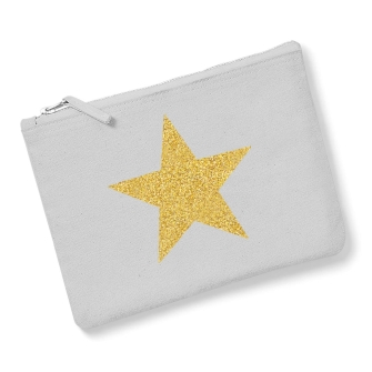 Star - Light Grey, Gold