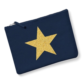 Star - Navy, Gold