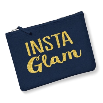 Insta Glam - Navy, Gold