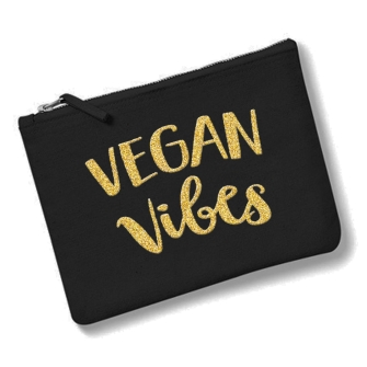 Vegan Vibes - Black, Gold
