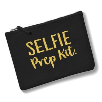 Selfie Prep Kit - Black Gold