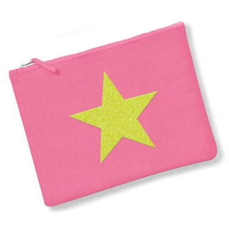 Star - True Pink, Neon Yellow