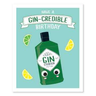 Have A Gin-Credible Birthday