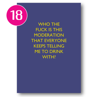 Who The F Is Moderation