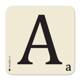 Letter A Table Mat