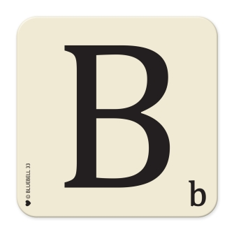 Letter B Table Mat