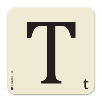 Letter T Table Mat