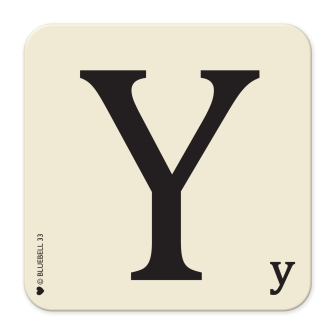 Letter Y Table Mat