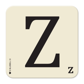 Letter Z Table Mat
