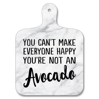 Not Everyone Happy, Not An Avocado