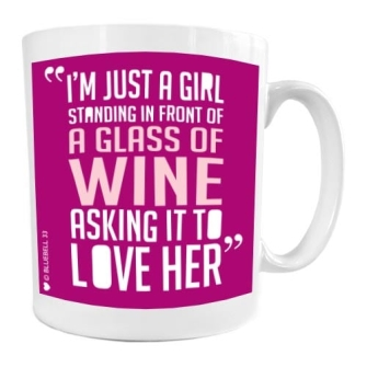 Just a girl Wine