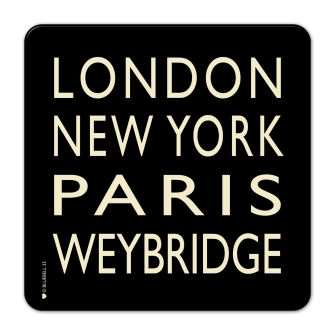 London, NY, Paris