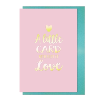 A little card with a lot of love