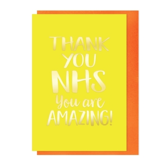 Thank you NHS you are amazing!