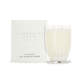 Lily & Lotus Flower 350g Candle