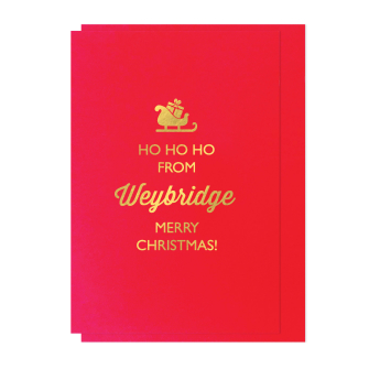 Ho Ho Ho from Weybridge