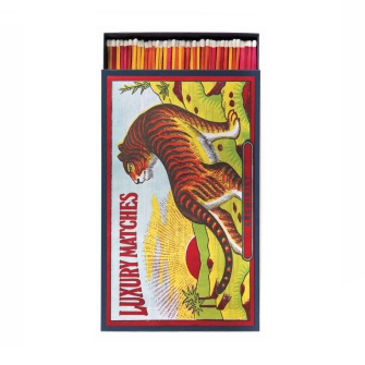 Tiger On The Prowl Giant Matchbox