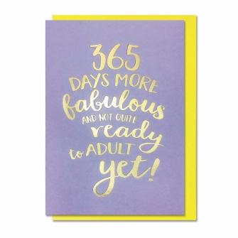 365 Days More Fabulous