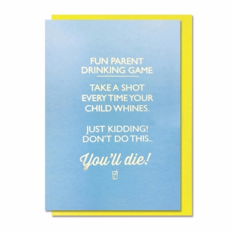Fun Parent Drinking Game