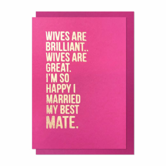 Wives Are Brilliant