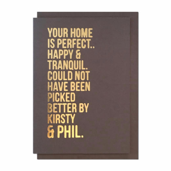 Your Home Is Perfect