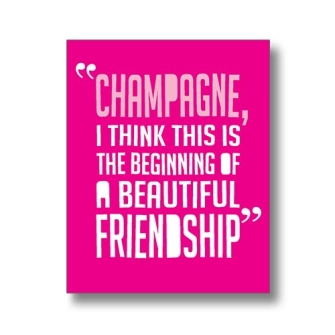 Champagne friendship