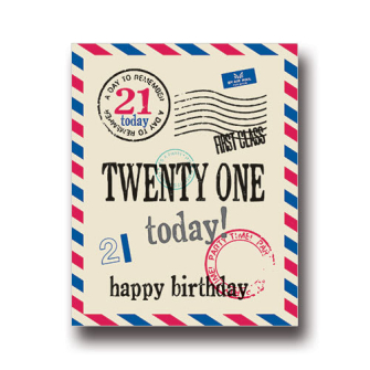 Twenty One Today
