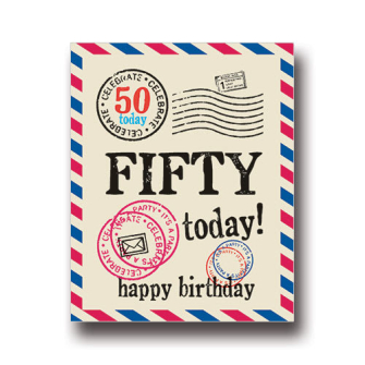 Fifty Today