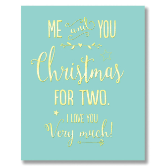 Me & You, Christmas For Two