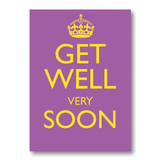 Get Well Very Soon