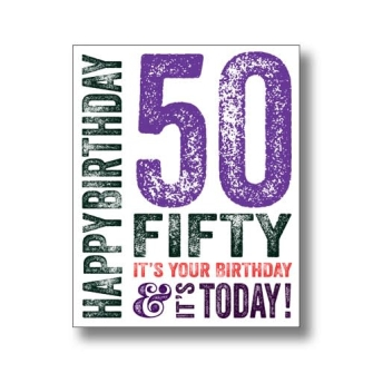 50 Today - Purple
