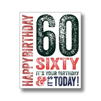 60 Today - Dark Blue