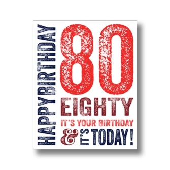 80 Today - Red