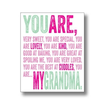 You Are My Grandma