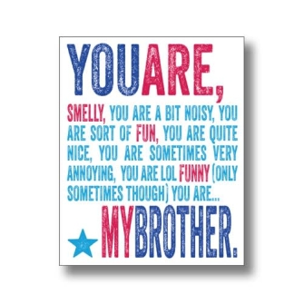 You Are My Brother