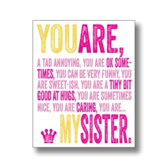 You Are My Sister