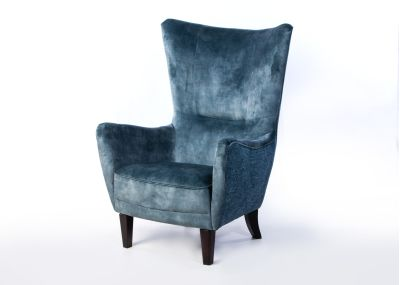 Harry Chair Lovely Aqua and Fontana Celadon