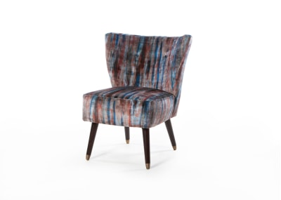 Izzy Chair Wenge Leg with Cups - Warwick Linn Sunset