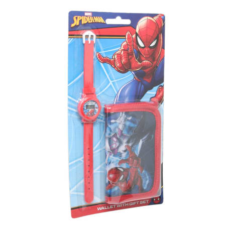 Watch Wallet set on Blister Spiderman