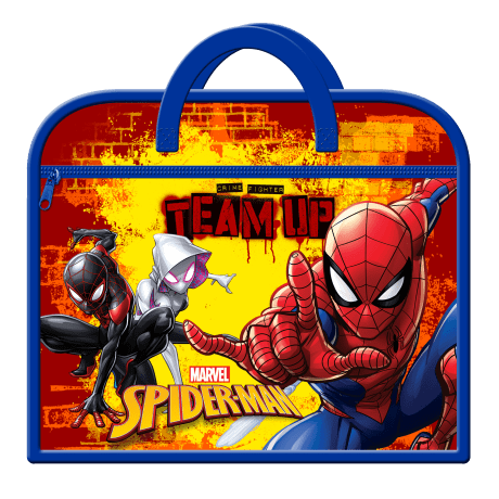 Zipped Book Bag Spiderman