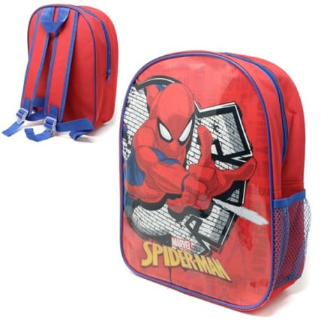 Backpack Spiderman with Side pocket